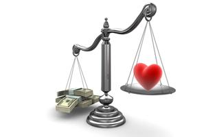 Деньги и любовь...