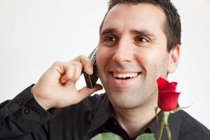 Романтичный мужчина