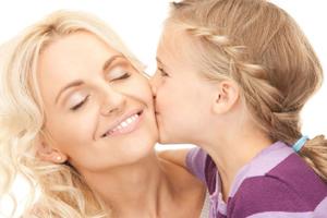 Мама и дочка - подруги на всю жизнь