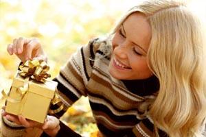 Человек и подарок